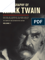 Autobiography of Mark Twain, Volume 1:The Complete and Authoritative Edition by Mark Twain