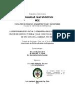 LA RESPONSABILIDAD SOCIAL EMPRESARIAL COMO ESTRATEGIA PARA UNA MEJOR GESTION INTEGRAL DE LAS FERRETERIAS  DEL  MUNICIPIO DE SAN JUAN DE LA MAGUANA, AÑO 2006