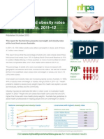 Overweight and Obesity Report October 2013