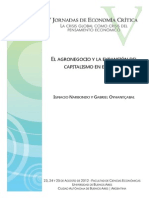 El agronegocio y la expansión del capitalismo en el campo - Narbondo y Oyhantcabal
