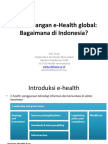 Perkembangan e-health global