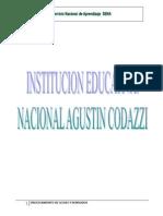 Procesamiento de Leches y Derivados Nacional Agustin Codazzi
