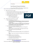 ATVenture 2013 Business Proposal Guidelines