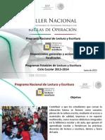 Taller Nacional Pnle 10062013