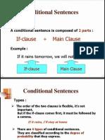 Conditionals Grammar