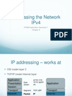Chapter 6 - Addressing the Network IPv4