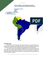Ventajas y Desventajas Que Ha Tenido Venezuela Contexto Internacional