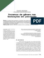 Encrenca de Gênero - Psicologia - Sandra Azeredo
