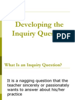 developing inquiry questions pt  sp presentation 2013-14