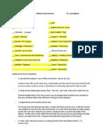 HU 145 Midterm Review FA 2013 (1).docx