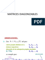 Matrices Diagonizables (1)