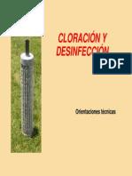 3.-cloración y desinfección