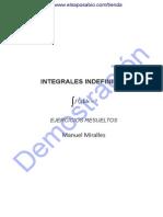 31070621 Integrales Indefinidas Ejercicios Resueltos