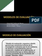 2. Modelos de Evaluacion
