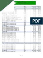 Lista de Precios Pc Factory