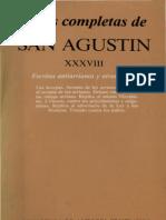SAN AGUSTÍN. Escritos antiarrianos y otros herejes