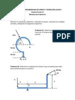 Practica Parcial 2 de Mecanica