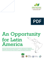 An Opportunity Forest Restoration Latin America Brochure
