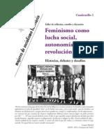 Cuaderno Feminismo