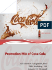 Promotion Mix of Coca-Cola
