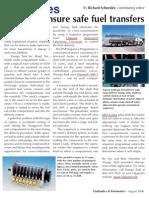 Air Valves Ensure Safe Fuel Transfers