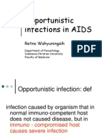 12. Prof Retno - Opportunistic infections in AIDS Edit.ppt