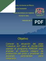 Pipesim - Analisis Flujo Multifasico en Tuberias - Pozo Catedral-43