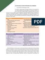 complicaciones relacionadas al estado nutricional en el embarazo