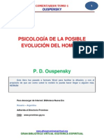 15 26 Psicologia de La Posible Evolucion Del Hombre p. d. Ouspensky Www.gftaognosticaespiritual.org