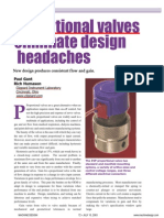 Proportional Valves Eliminate Headaches.