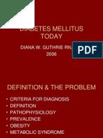 DIABETES MELLITUS TODAY.ppt