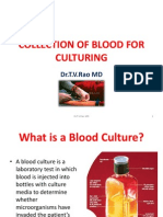 COLLECTION OF BLOOD FOR CULTURING.pptx