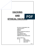 Hacking & Ethical Hacking