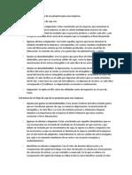 Estructura de Flujo de Caja de Un Proyecto Para Una Empresa