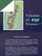 Volcanes en El Ecuador