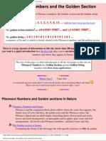 Fibonacci Numbers and the Golden pdf