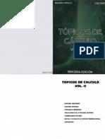 Tópicos de cálculo Vol. II H - By Priale