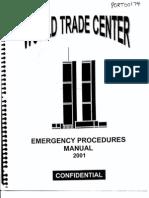 NY B30 WTC Emergency Procedures Manual 2001 Fdr- Entire Contents- Manual 262