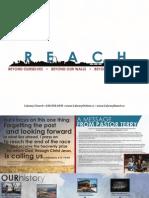 Calvary Reach Booklet