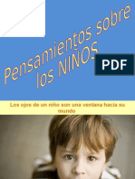 PENSAMIENTOS DE LOS NIÑOS