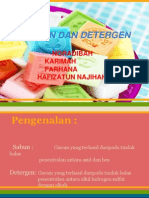 Soap and Detergent PPT