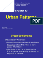 Ch13_Urban Patterns.ppt