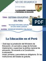 Sistema Educativo en El Peru