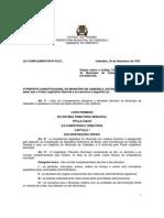 CABEDELO - LC nº 02-97 -CTM - atualizado pelas LC 08-01 12-02 16-04 e 25-09