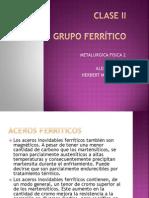 ACEROS FERRITICOS