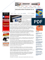 SiteBarra » Ação judicial pode retirar Facebook do ar no Brasil