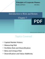 Chapter 7 Intro to Risk and Return - updated.ppt