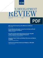 Asian Development Review - Volume 22, Number 1