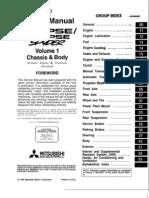 mitsubishi eclipse 1999 factory service repair manual download