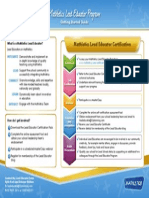 Mathletic lead teacher certification